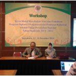 Workshop Revisi Modul Mata Kuliah Teori dan Praktikum Program Studi Diploma I PPK TA 2014-2015