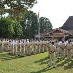 Upacara Civitas Akademika Dalam Rangka Memperingati Hari Pahlawan Ke 73 Tahun 2018