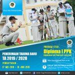 Pengumuman Penerimaan Calon Taruna Baru Program Studi Diploma I PPK STPN T.A 2019/2020
