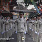 Upacara Hari Kemerdekaan Republik Indonesia ke 74 di STPN Yogyakarta