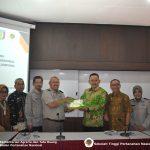Penjajakan MoU Antara Sekolah Tinggi Pertanahan Nasional dengan Pemerintah Kabupaten  Pringsewu Lampung