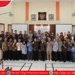 Diskusi Hasil Penelitian Sekolah Tinggi Pertanahan Nasional Dalam Penguatan Konsep Pelaksanaan Retribusi Tanah, IP4T, Dan Reforma Agraria Bersama Kantor Wilayah BPN Provinsi Sulawesi Tengah