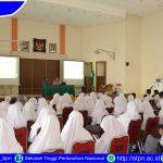 Kunjungan dari SMA Negeri 1 Prajekan Bondowoso ke Sekolah Tinggi Pertanahan Nasional Yogyakarta