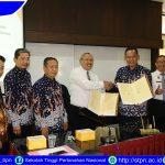 Penandatanganan Nota Kesepakatan Bersama Antara Sekolah Tinggi Pertanahan Nasional dengan Pemerintah Daerah Kabupaten Pring Sewu