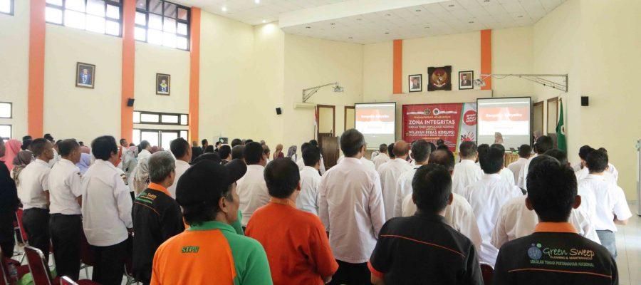 Pembangunan Zona Integritas (ZI) Sekolah Tinggi Pertanahan Nasional
