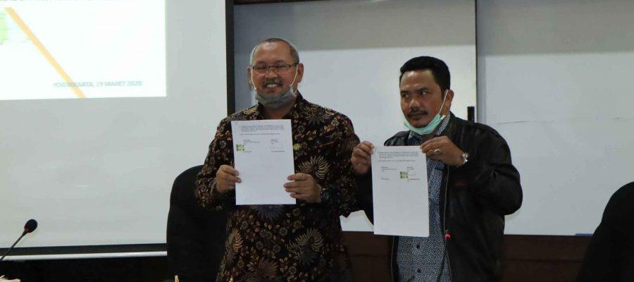 Penandatangan Kesepakatan Bersama dan Penjajakan Kerja Sama Pendidikan Antara Sekolah Tinggi Pertanahan Nasional dengan Pemerintah Kabupaten Kayong Utara