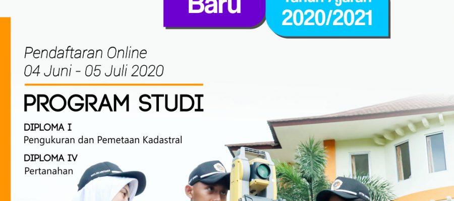 Pengumuman Penerimaan Calon Taruna/Taruni Jalur Umum Sekolah Tinggi Pertanahan Nasional Tahun Akademik 2020/2021