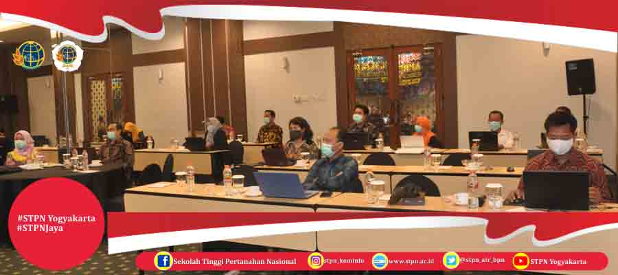 Workshop Tindak Lanjut Akreditasi Digital Sekolah Tinggi Pertanahan Nasional