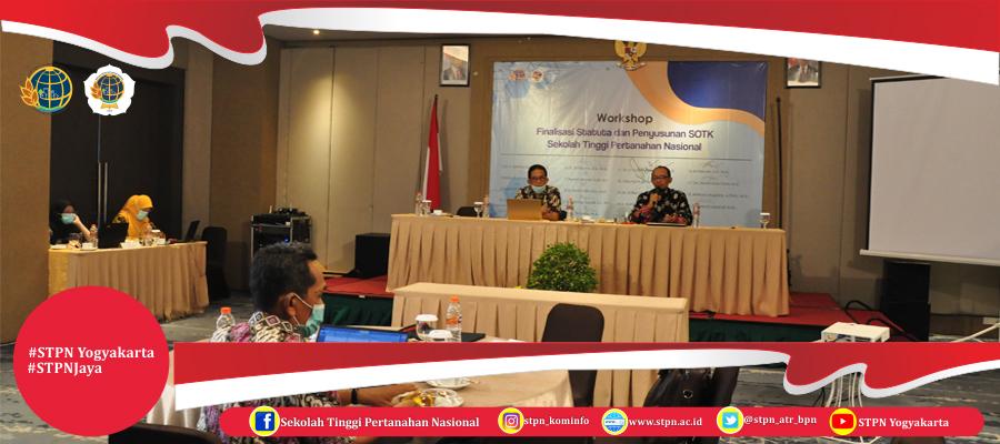 Workshop Kaji Ulang Statuta dan Penyusunan SOTK (Politeknik) STPN