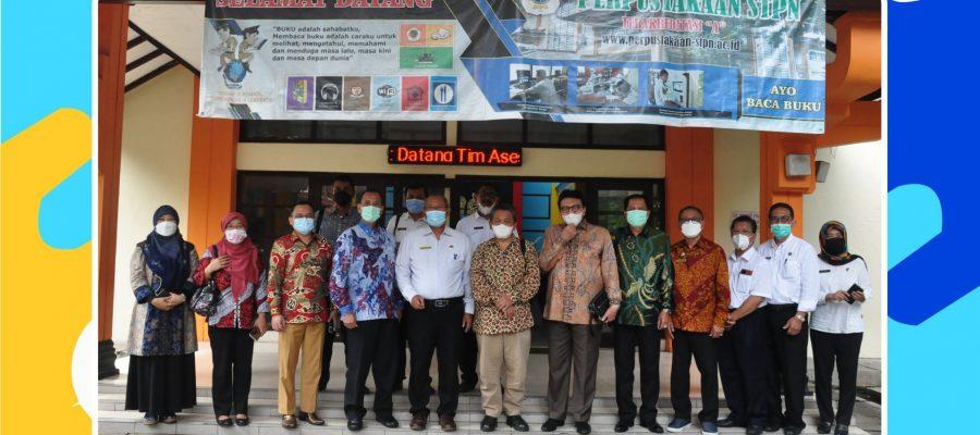 Universitas Nusa Bangsa Melakukan Studi Banding Ke Sekolah Tinggi Pertanahan Nasional