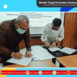Perjanjian Kerja Sama Antara Badan Pengembangan Sumberdaya Manusia Aceh dengan Sekolah Tinggi Pertanahan Nasional Tahun Akademik 2021/2022