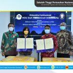 Penandatanganan Nota Kesepahaman dan Perjanjian Kerja Sama antara Sekolah Tinggi Pertanahan Nasional dengan Sekolah Vokasi Universitas Diponegoro