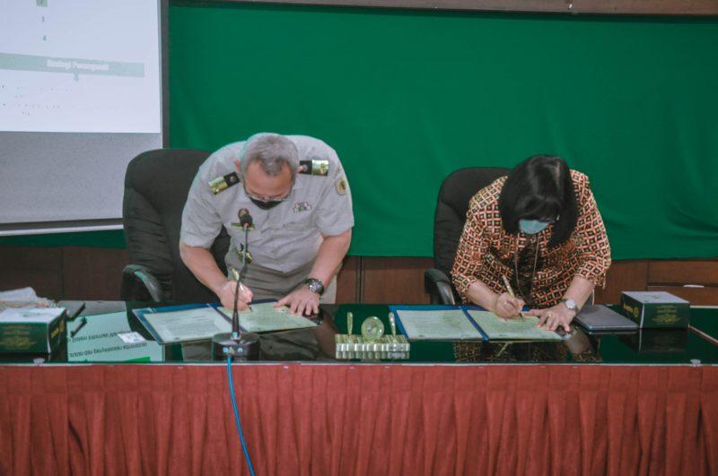 Penandatanganan Perjanjian Kerja Sama (PKS)