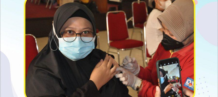 Vaksinasi Covid-19 Tahap 2 di Lingkungan Sekolah tinggi Pertanahan Nasional