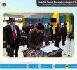 Pelantikan Kepala dan Pengelola Unit Penunjang Akademik (UPA) & Unit Pusat di lingkungan Sekolah Tinggi Pertanahan Nasional