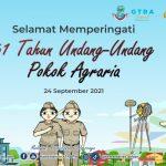 Selamat Memperingati 61 Undang-Undang Pokok Agraria