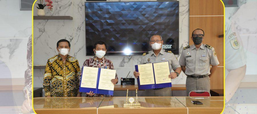 Penandatangan Kerja Sama (PKS) STPN dengan Univesitas Lampung